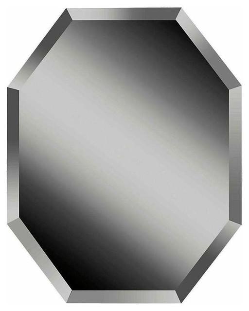 "Feiss Mr1156 Infinity 30"" Height X 24"" Width Octagonal Mirror."