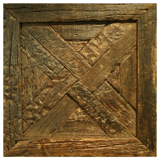 02c039bc03 Deer Valley Square Distressed Wood Decorative Panel - Rustic - Wall Accents  - by Innovations Designer Home Decor & Accent Furniture