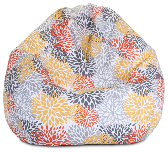 Strange Outdoor Citrus Blooms Small Bean Bag Machost Co Dining Chair Design Ideas Machostcouk