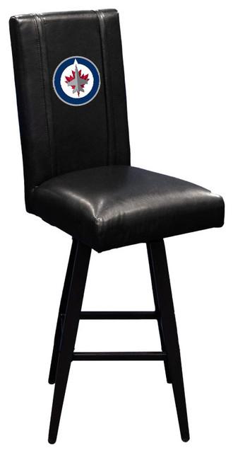 Astounding Winnipeg Jets Nhl Bar Stool Swivel 2000 Cjindustries Chair Design For Home Cjindustriesco