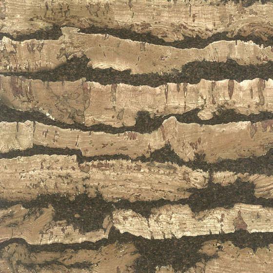 "11.8""x23.6"" Iris Mocha Cork Wall Tiles, Set Of 11."