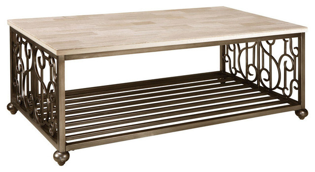 Standard Furniture Toscana Cocktail Table With Marble Top