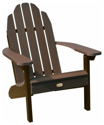 Cordell Adirondack Chair, Brown