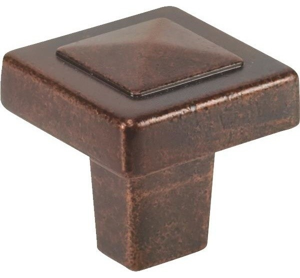 Pyramid Pull and Knob, Pack of 25 - Rustic - Cabinet And ...