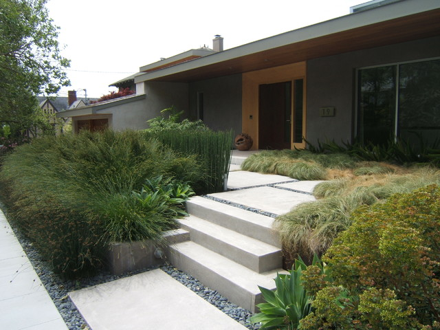 A modern garden piedmont modern san francisco by for Outer space design landscape architects