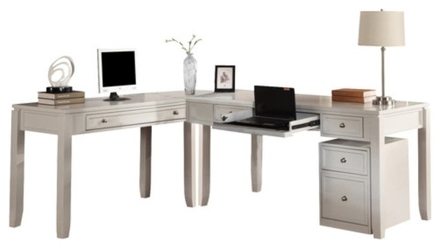Superb Modular Home Office Boca By Parker House Transitional Desks And Hutches