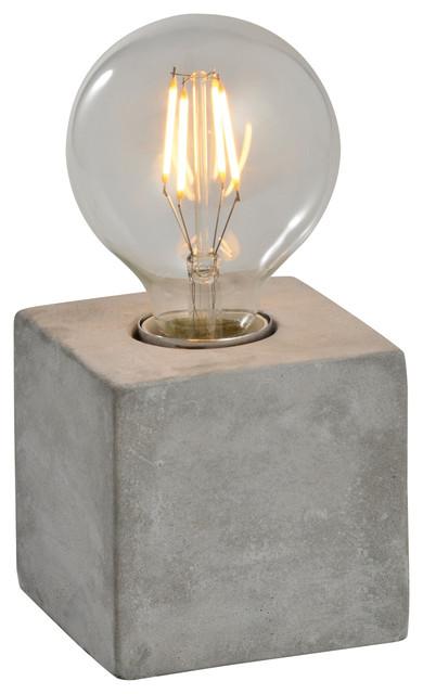 Beau Katerina Table Lamp, Concrete