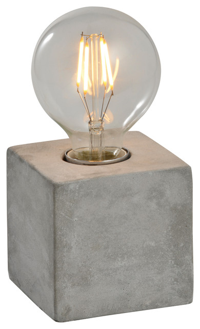 Pangea Home   Katerina Concrete Table Lamp   Table Lamps