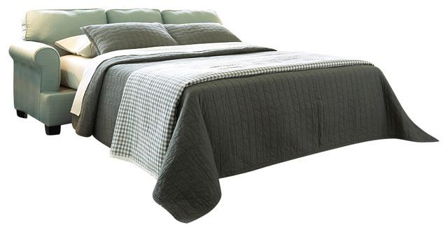 Peachy Contemporary Queen Sofa Sleeper Seafoam Cjindustries Chair Design For Home Cjindustriesco