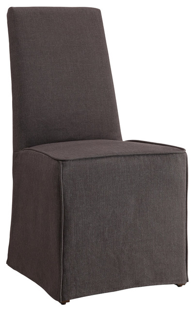 Coaster Fine Furniture Dining Chair, Gray