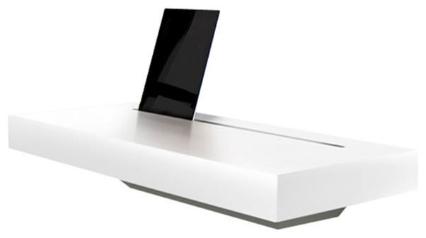Spell Stage Interactive Shelf White Gloss Charging