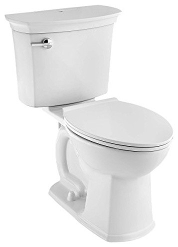 2-Piece Acticlean Self-Cleaning Right Height Elongated 1.28 GPF Toilet, White