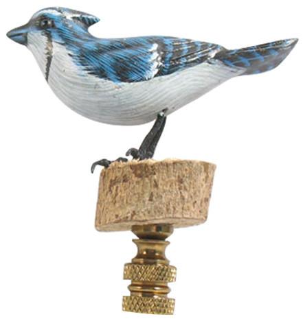 bird lamp lamp finials bluejay lighting hardware. Black Bedroom Furniture Sets. Home Design Ideas