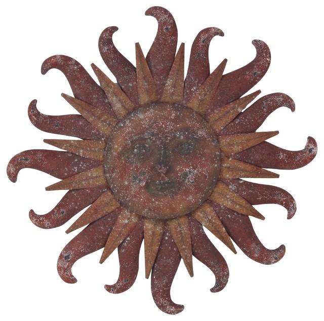 Celestial Sun Iron Wall Decor