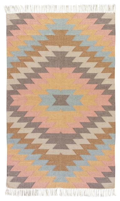 Jaipur Living Mojave Indoor/outdoor Geometric Multicolor Area Rug, 8&x27;x10&x27;.