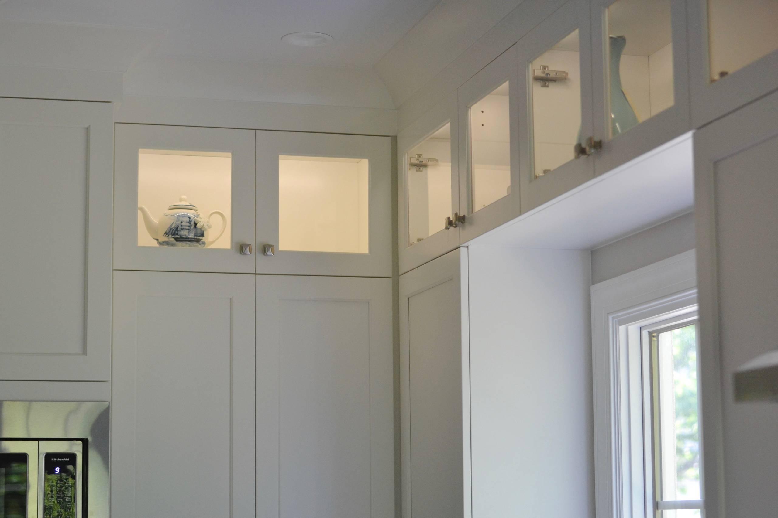 Craftsman Kitchen, Bathroom, & Living Room