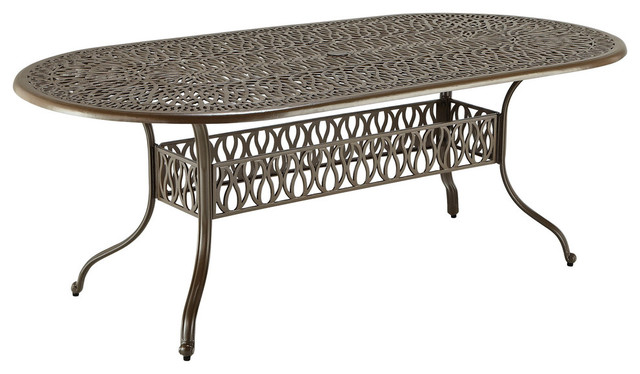 Gardenia Dining Table Traditional Outdoor Dining Tables