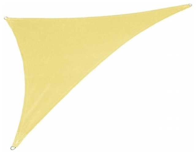 Gale Pacific Usa Coolaroo Coolhaven Shade Sail Right Triangle, 15&x27;x12&x27;x9&x27;.