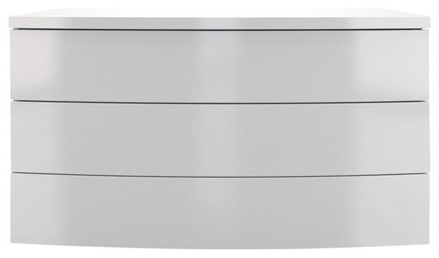 Ludlow Dresser, White Lacquer