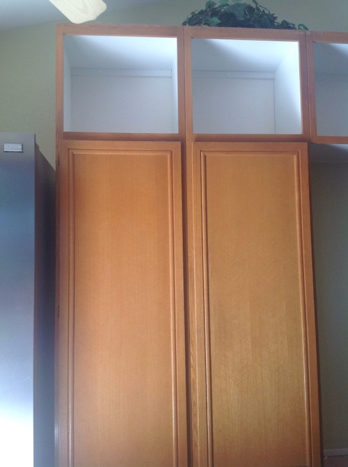 Replacing oak kitchen cabinet doors with maple