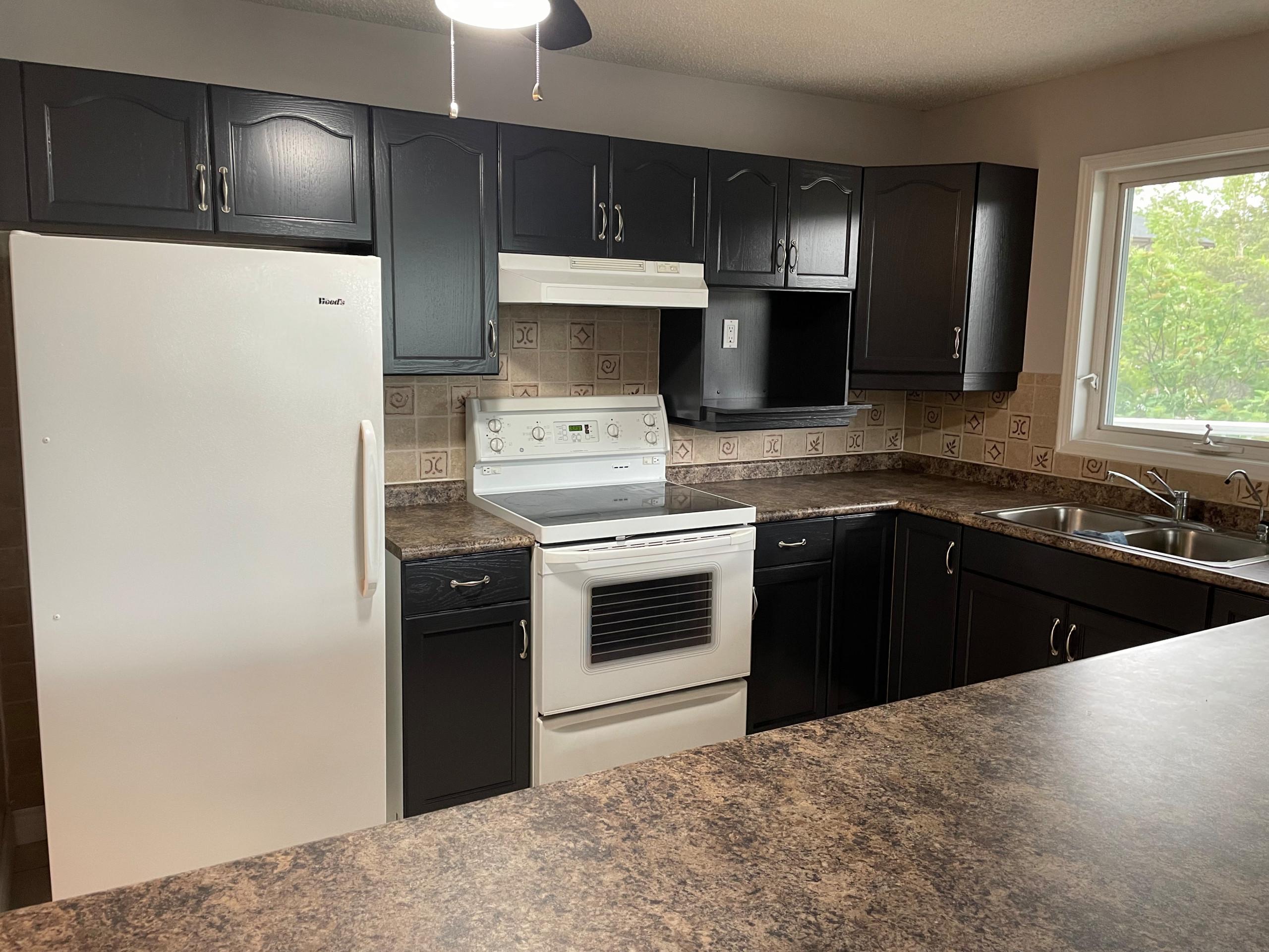 U- shaped kitchen update