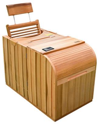 Health Mate Essential Sauna, One Person Compact Sauna.