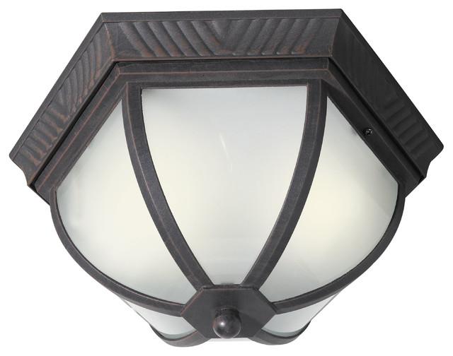 Energy Saving Glenwood 2-Light Flush-Mount Ceiling Light.