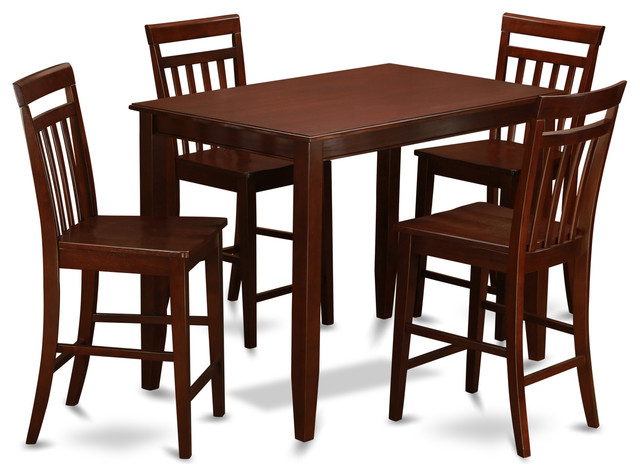 west furniture buew mah kitchen table set indoor pub and bistro sets