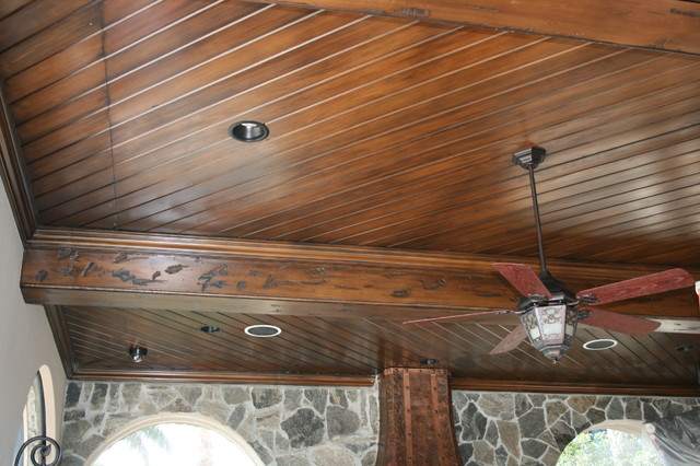 tongue and groove ceiling - miami -matot mouldings