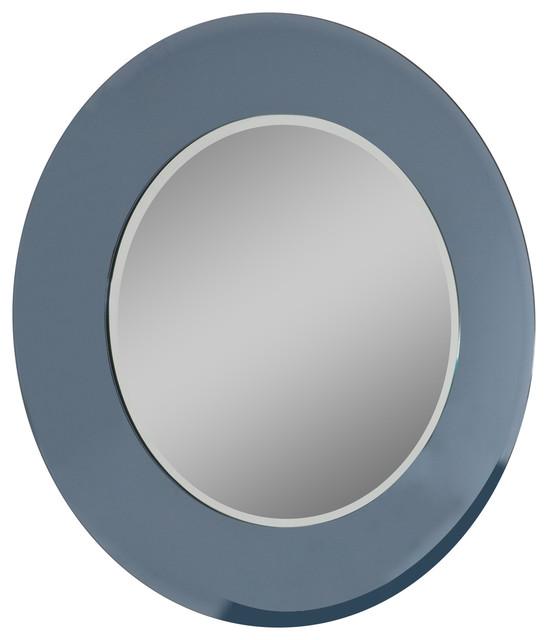 Bathroom Mirrors Round camilla round bathroom mirror - contemporary - bathroom mirrors