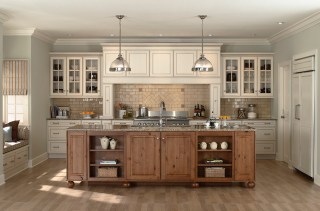 Rustic Farmhouse Kitchen White farmhouse kitchen cabinets. zamp.co