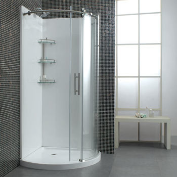 Perfect Should I Use An Acrylic Shower Unit Or Do Tile?