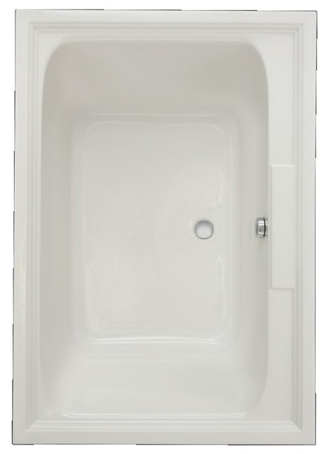 "American Standard Town Square, White, 45.5""x63.63""x25.5""."