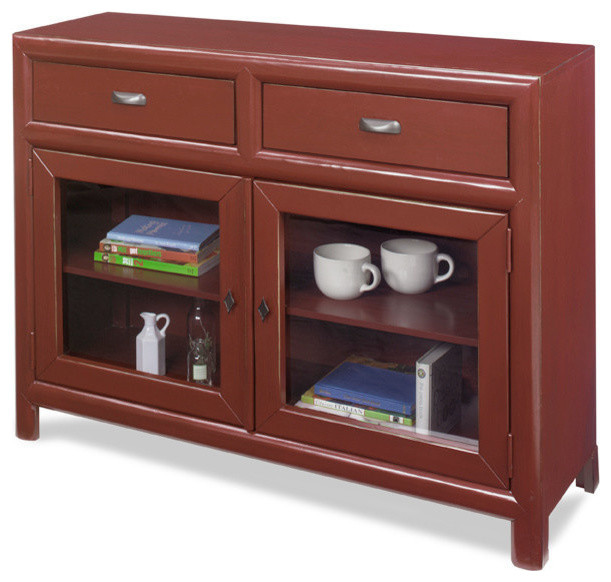 Shelby Curio Cabinet - Transitional - China Cabinets And Hutches - by Progressive Furniture