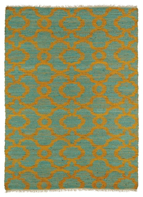 Natural fiber kenwood area rug contemporary hall and for Contemporary runner rugs for hallway