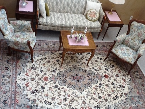 Decorating Around A Persian Rug. Fabric Recommendations?