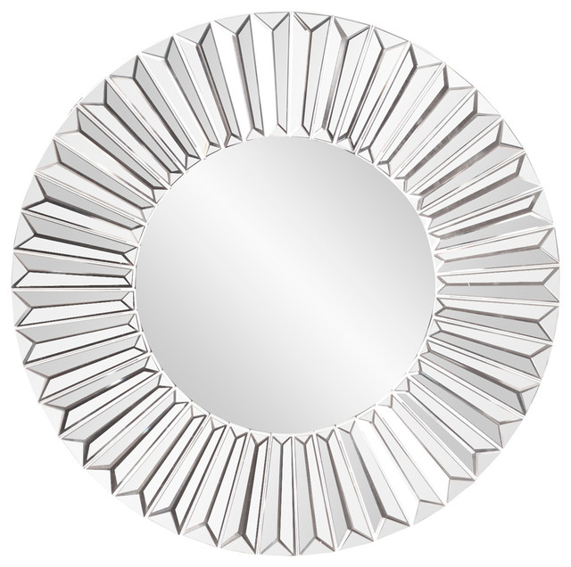 Torino Contemporary Sunburst Mirror.