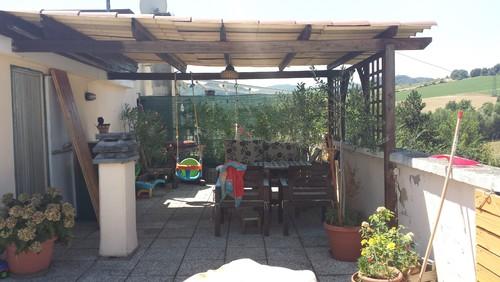 ristrutturazione/arredamento terrazza