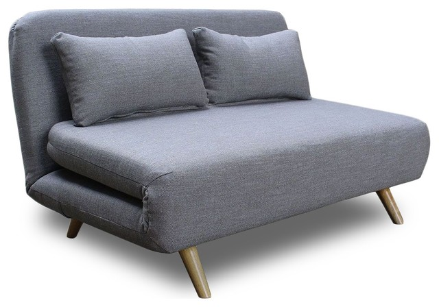 Canap convertible et modulable 2 places john scandinave for Divan lit une place