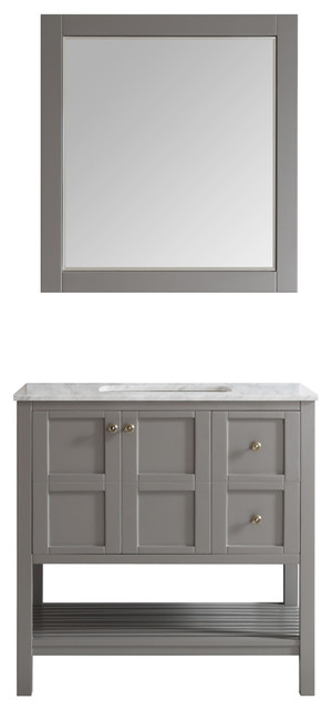 Best Transitional Bathroom Vanities And Sink Consoles by Vinnova