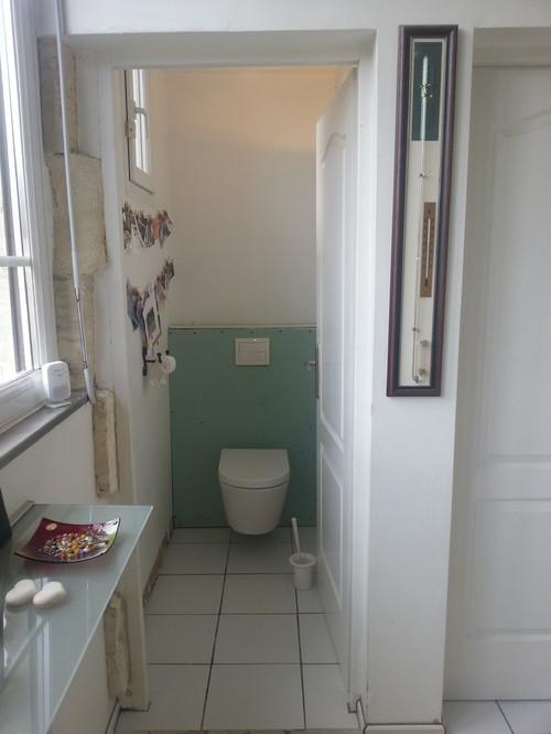 Wc - Comment peindre un wc ...