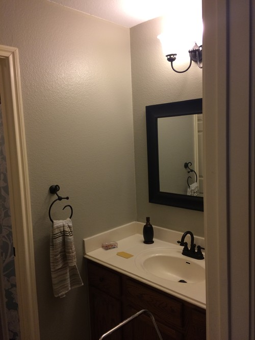 Windowless Powder Room Paint Color
