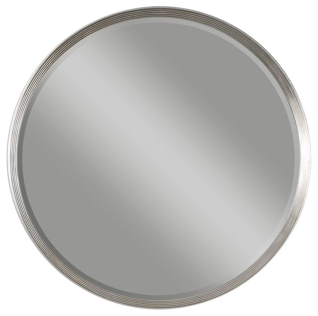 0c56022d044 Uttermost Serenza Round Mirror - Transitional - Wall Mirrors - by GwG Outlet