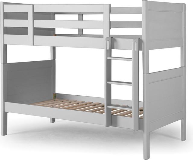 Nesto Bunk Bed, Gray.