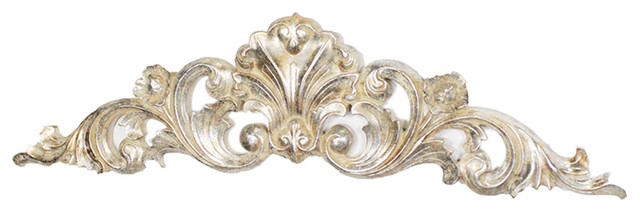 """Classic 34"""" Scrollwork Wall Plaque."""