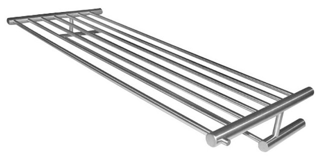 Cool Lines Line 25 Wall Mount Towel Rack With Bar In