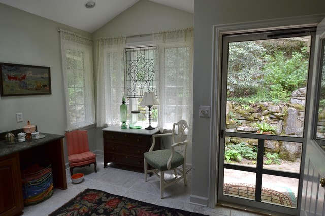 Eclectic home design photo in Other