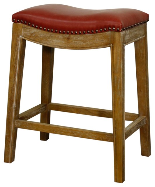 New Pacific Direct Inc Elmo Bonded Leather Counter Stool