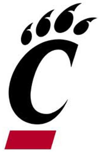 Ncaa Cincinnati Bearcats College Logo Wall Accent Decal