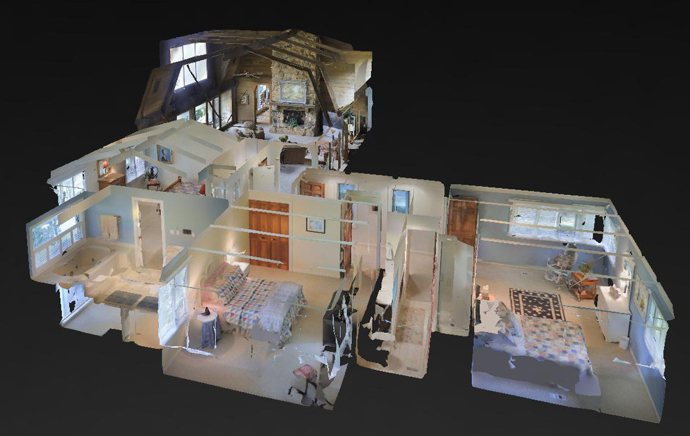 3D Photography Dollhouse View